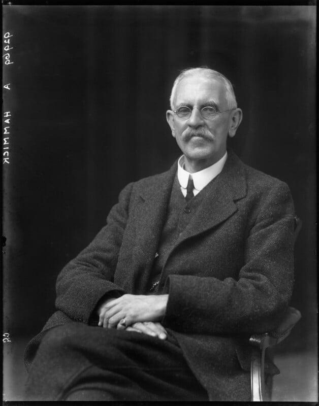 Sir Murray Hammick, by Walter Stoneman, 1917 - NPG x43599 - © National Portrait Gallery, London