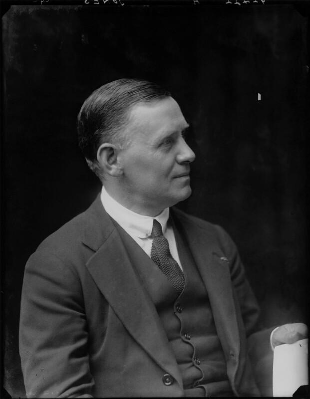 (William) Kennedy Jones, by Walter Stoneman, 1917 - NPG x43672 - © National Portrait Gallery, London