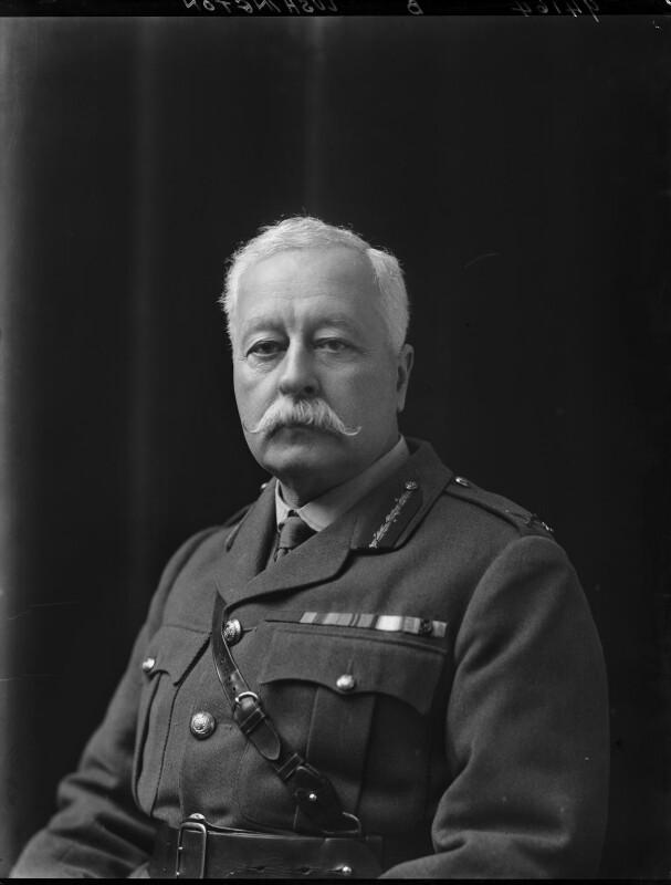 Stephen Lushington, by Walter Stoneman, 1918 - NPG x44084 - © National Portrait Gallery, London