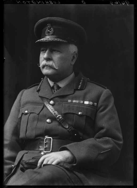 Stephen Lushington, by Walter Stoneman, 1918 - NPG x44085 - © National Portrait Gallery, London