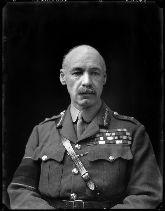 Henry Seymour Rawlinson, 1st Baron Rawlinson of Trent, by Walter Stoneman, 1918 - NPG x44089 - © National Portrait Gallery, London