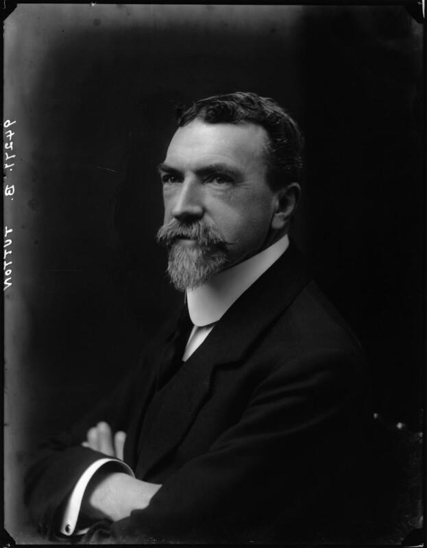 Alfred Edwin Howard Tutton, by Walter Stoneman, 1918 - NPG x44184 - © National Portrait Gallery, London