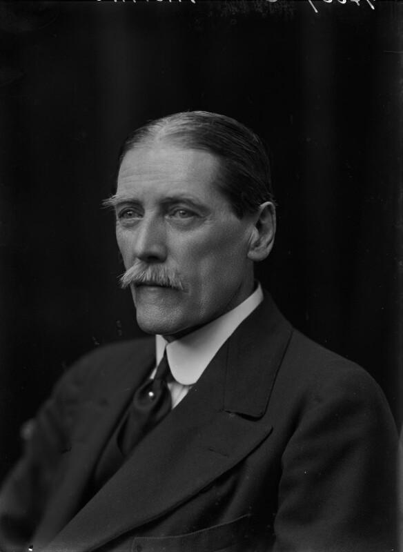 Sir (Charles) Inigo Thomas, by Walter Stoneman, 1918 - NPG x44314 - © National Portrait Gallery, London