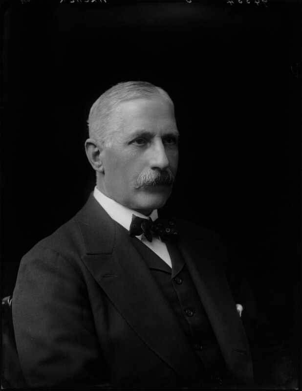 Sir John Archer, by Walter Stoneman, 1918 - NPG x44470 - © National Portrait Gallery, London