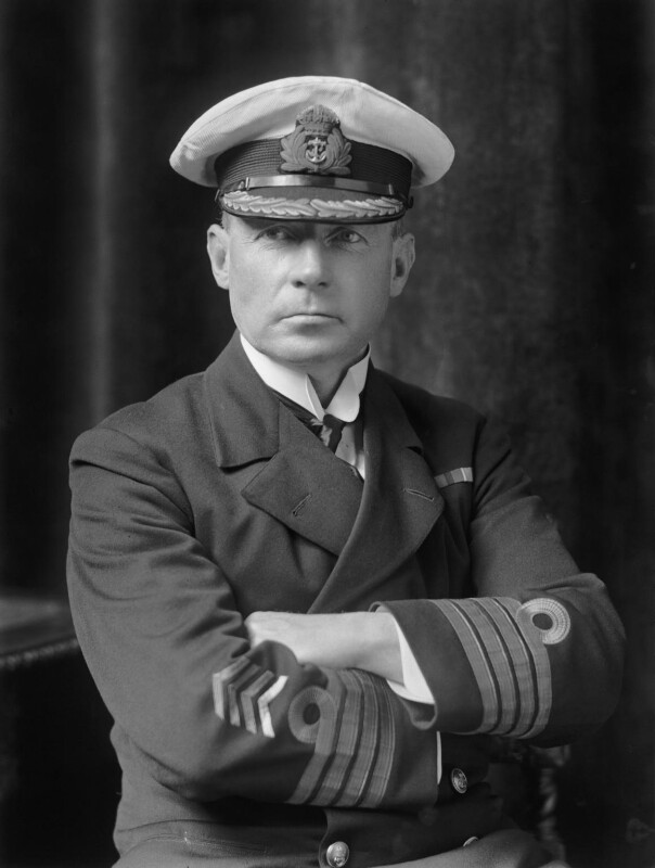 Walter Reginald Glynn Petre, by Walter Stoneman, 1918 - NPG x44514 - © National Portrait Gallery, London
