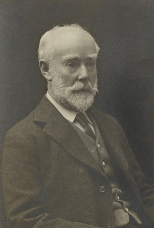 Sir Sidney Colvin, by Walter Stoneman, for  James Russell & Sons, circa 1916 - NPG Ax46101 - © National Portrait Gallery, London