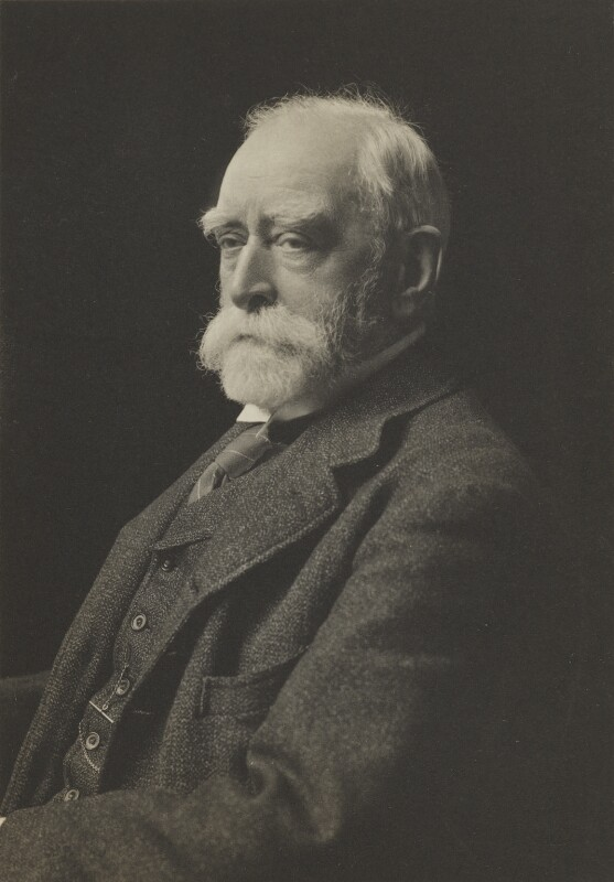 Sir Edward John Poynter, 1st Bt, by James Russell & Sons, 1910s - NPG Ax46102 - © National Portrait Gallery, London