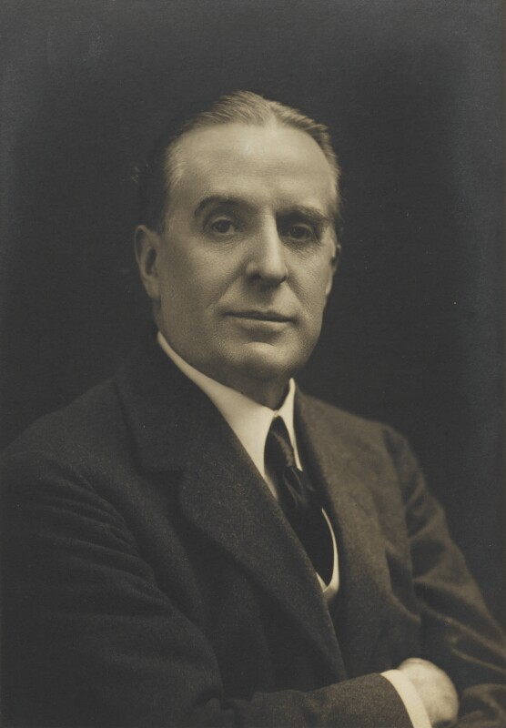 (Walter) Weedon ('Wee-Gee') Grossmith, by Walter Stoneman, for  James Russell & Sons, circa 1916 - NPG Ax46125 - © National Portrait Gallery, London