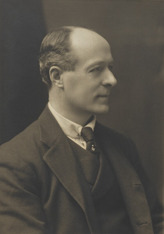 Gervase Henry Cary Elwes, by Walter Stoneman, for  James Russell & Sons, circa 1916 - NPG Ax46128 - © National Portrait Gallery, London
