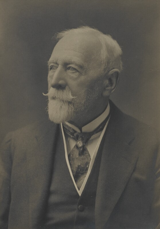 Sir Thomas Clifford Allbutt, by Walter Stoneman, for  James Russell & Sons, circa 1916 - NPG Ax46129 - © National Portrait Gallery, London