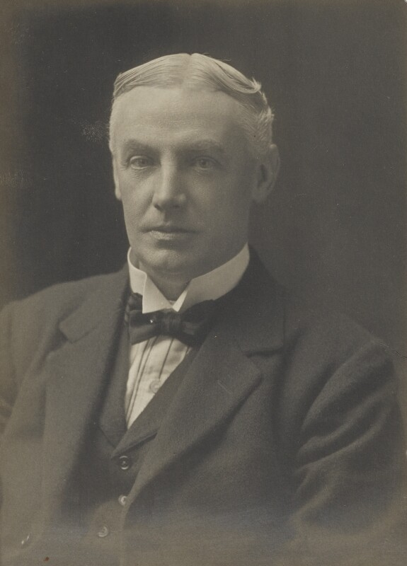 Sir Donald Maclean, by Walter Stoneman, for  James Russell & Sons, circa 1916 - NPG Ax46130 - © National Portrait Gallery, London