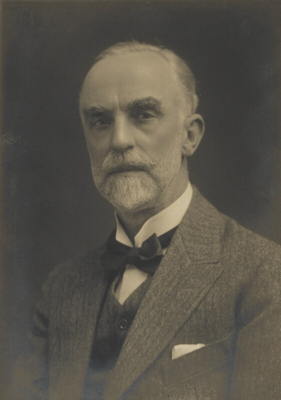 Sir William Goscombe John, by Walter Stoneman, for  James Russell & Sons, circa 1916 - NPG Ax46151 - © National Portrait Gallery, London
