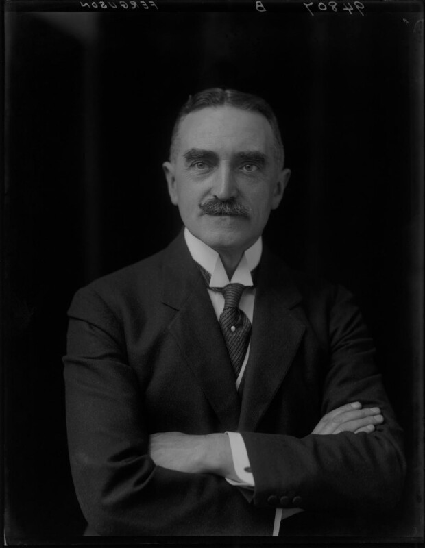 Sir John Ferguson, by Walter Stoneman, 1918 - NPG x65174 - © National Portrait Gallery, London