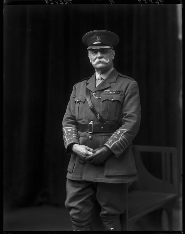 Sir Frederick Treves, 1st Bt, by Walter Stoneman, 1918 - NPG x65227 - © National Portrait Gallery, London