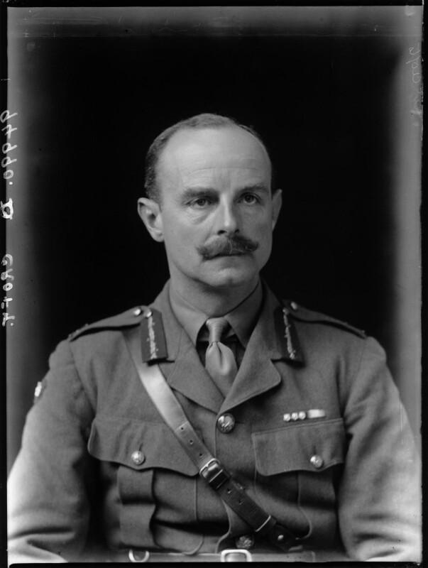William Denman Croft, by Walter Stoneman, 1918 - NPG x65378 - © National Portrait Gallery, London