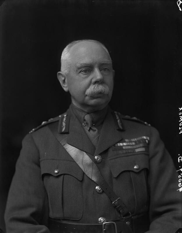 Herbert Plumer, 1st Viscount Plumer, by Walter Stoneman, 1918 - NPG x65457 - © National Portrait Gallery, London