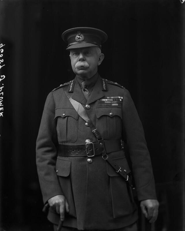 Herbert Plumer, 1st Viscount Plumer, by Walter Stoneman, 1918 - NPG x65460 - © National Portrait Gallery, London