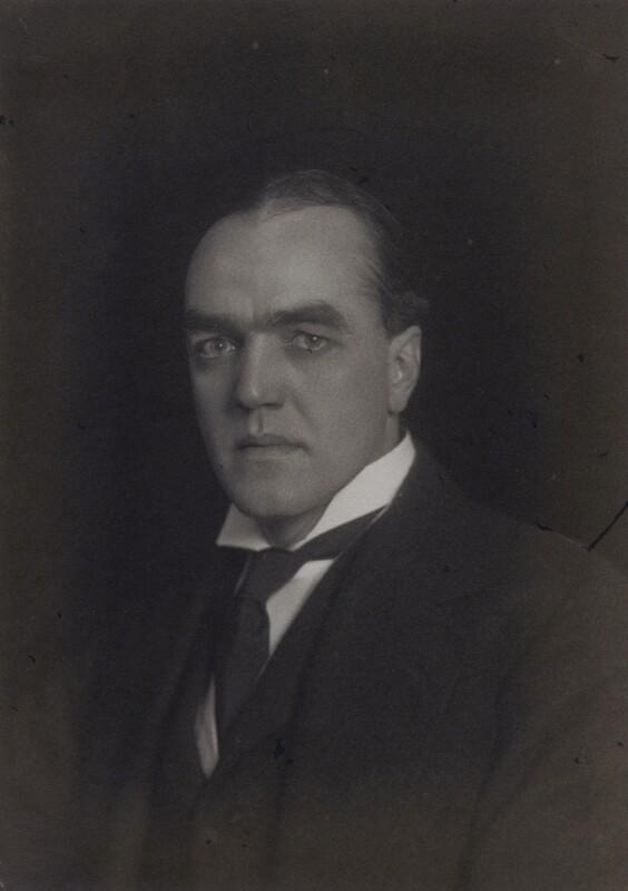 Sir Cyril Fullard Entwistle, by Walter Stoneman, 1919 - NPG x65592 - © National Portrait Gallery, London