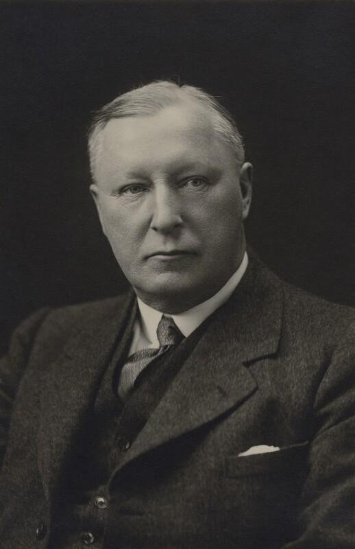 Sir Matthew Henry Gregson Fell, by Walter Stoneman, 1928 - NPG x65627 - © National Portrait Gallery, London