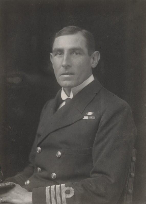 Henry Edgar Grace, by Walter Stoneman, 1919 - NPG x65751 - © National Portrait Gallery, London