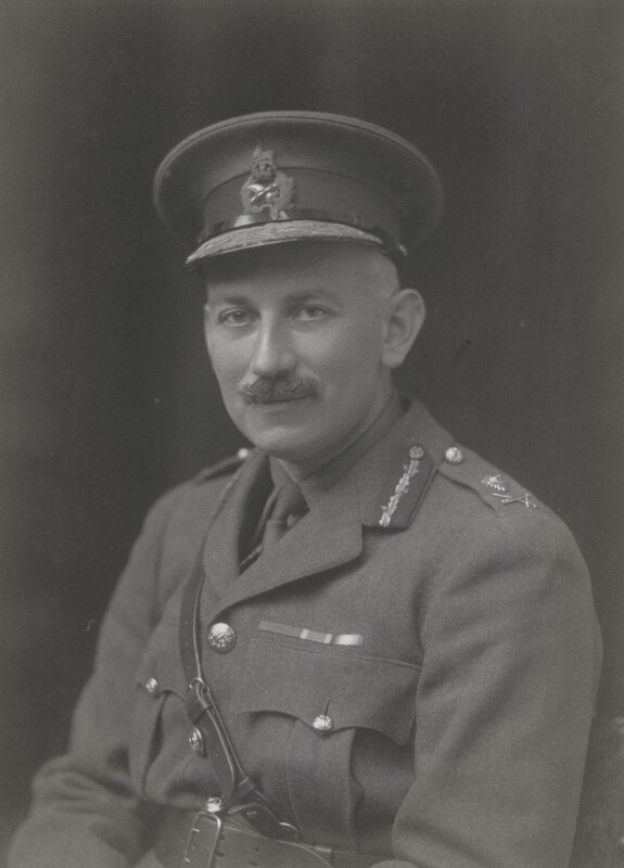 Sir Louis Ridley Vaughan, by Walter Stoneman, 1919 - NPG x65838 - © National Portrait Gallery, London