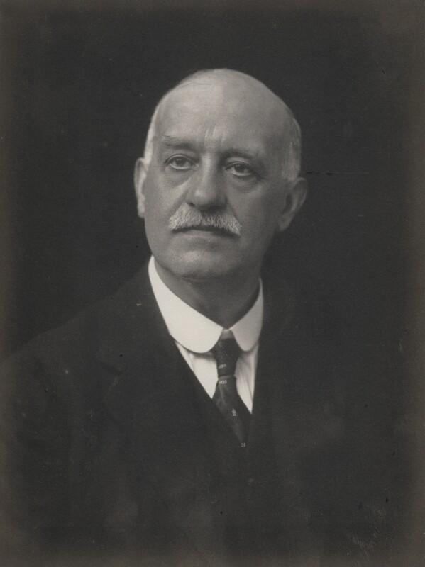 Sir James Galloway, by Walter Stoneman, 1919 - NPG x65947 - © National Portrait Gallery, London