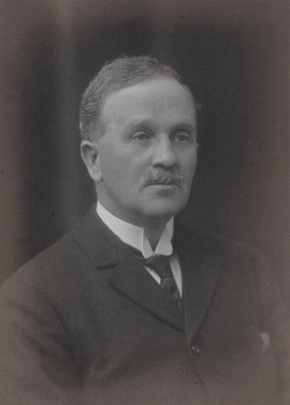 Alexander Charles Farquharson, by Walter Stoneman, 1919 - NPG x65972 - © National Portrait Gallery, London