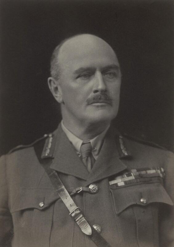 Edmund Henry Hynman Allenby, 1st Viscount Allenby, by Walter Stoneman, 1919 - NPG x66302 - © National Portrait Gallery, London