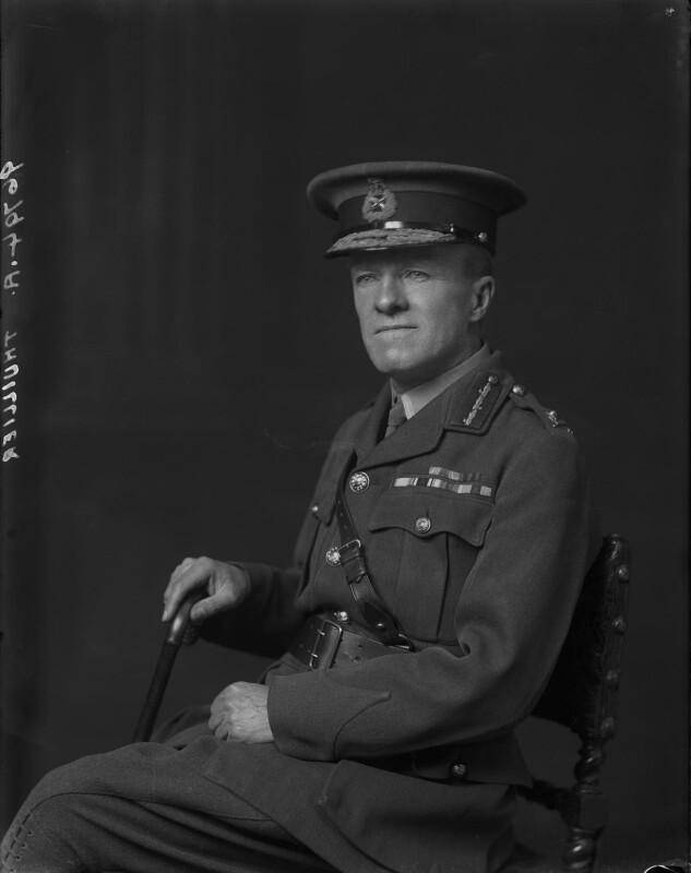 Henry Fleetwood Thuillier, by Walter Stoneman, 1919 - NPG x66357 - © National Portrait Gallery, London