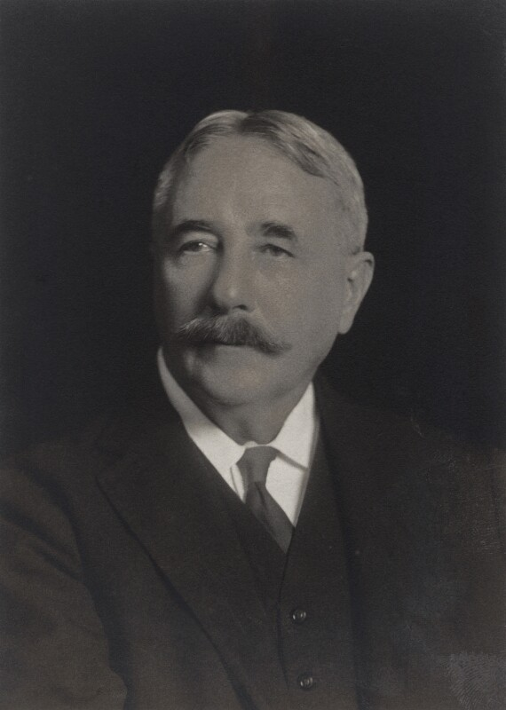 Sir Arthur Henderson Young, by Walter Stoneman, 1919 - NPG x66372 - © National Portrait Gallery, London