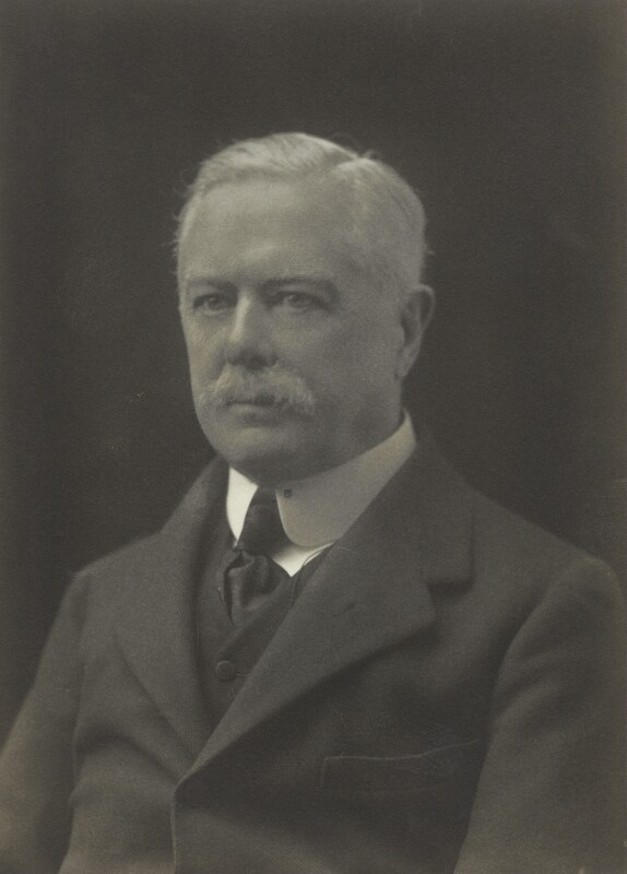 Alban George Henry Gibbs, 2nd Baron Aldenham, by Walter Stoneman, 1919 - NPG x66475 - © National Portrait Gallery, London