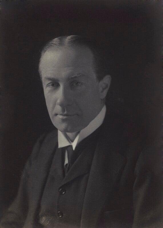 Stanley Baldwin, 1st Earl Baldwin, by Walter Stoneman, 1920 - NPG x66736 - © National Portrait Gallery, London