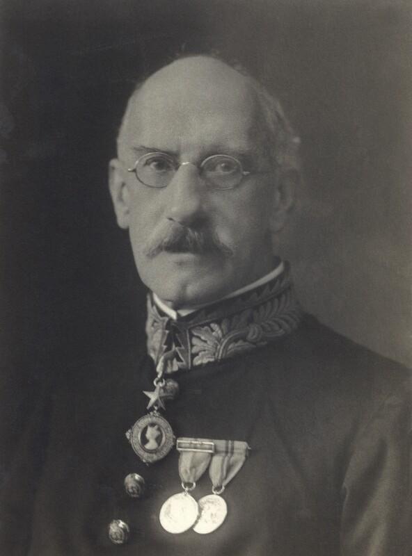 Sir John Nathaniel Atkinson, by Walter Stoneman, 1920 - NPG x66895 - © National Portrait Gallery, London