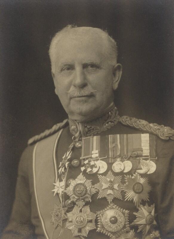 Sir Francis Reginald Wingate, 1st Bt, by Walter Stoneman, 1920 - NPG x66936 - © National Portrait Gallery, London
