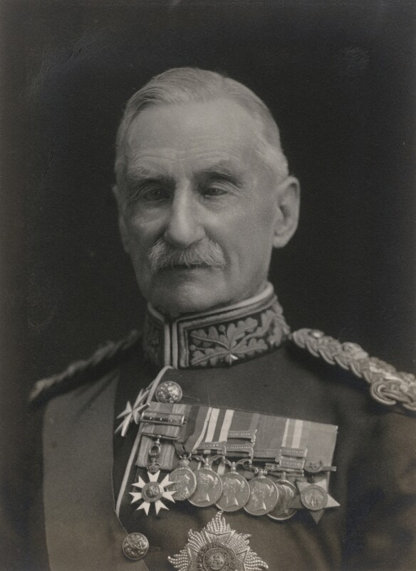 Sir Richard Harrison, by Walter Stoneman, 1920 - NPG x66965 - © National Portrait Gallery, London