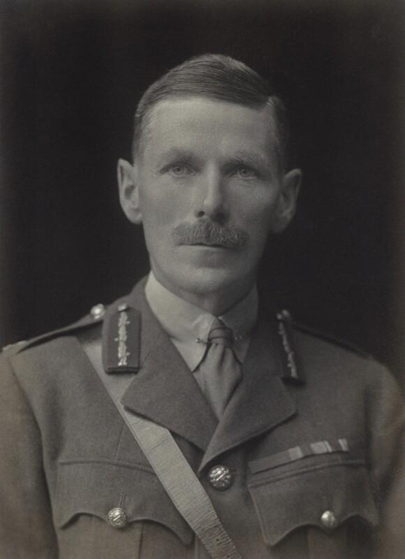 Sir Arthur John Allen-Williams, by Walter Stoneman, 1920 - NPG x67101 - © National Portrait Gallery, London