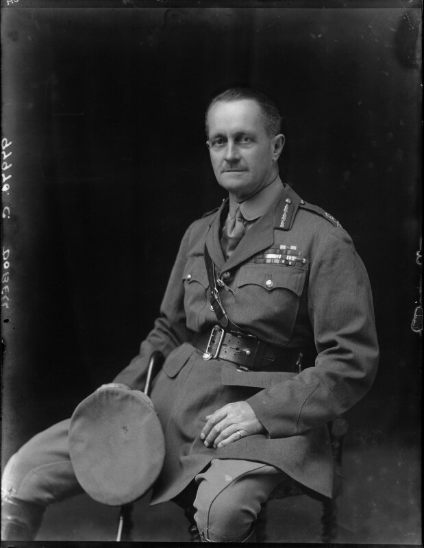 Sir Charles Macpherson Dobell, by Walter Stoneman, 1920 - NPG x67150 - © National Portrait Gallery, London