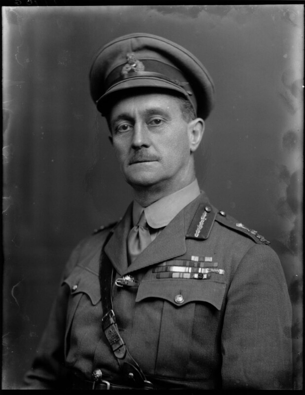 Sir Charles Macpherson Dobell, by Walter Stoneman, 1920 - NPG x67153 - © National Portrait Gallery, London