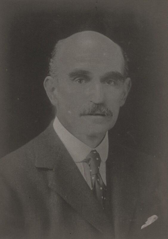 Sir James William Beeman Hodsdon, by Walter Stoneman, 1920 - NPG x67234 - © National Portrait Gallery, London
