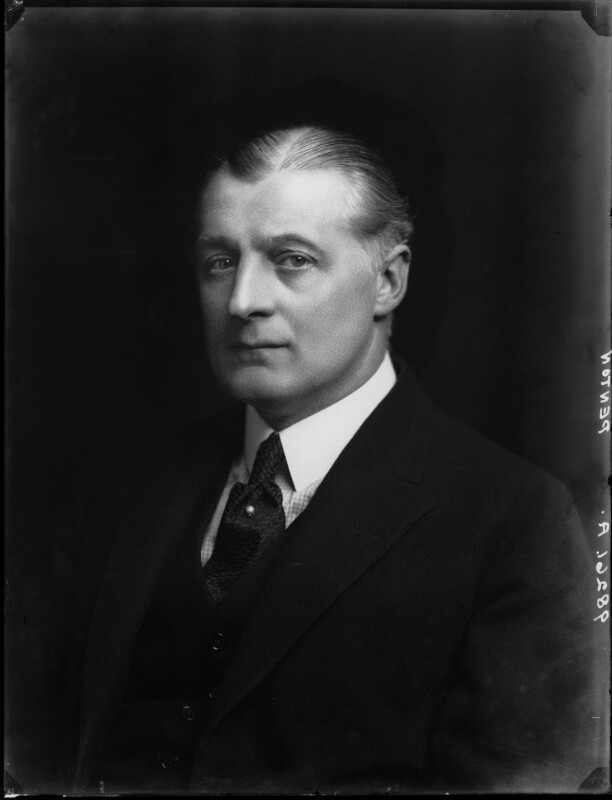 Sir Edward Penton, by Walter Stoneman, 1921 - NPG x67272 - © National Portrait Gallery, London