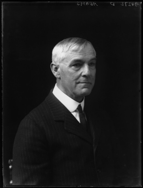 Sir Arthur Robert Adams, by Walter Stoneman, 1921 - NPG x67292 - © National Portrait Gallery, London