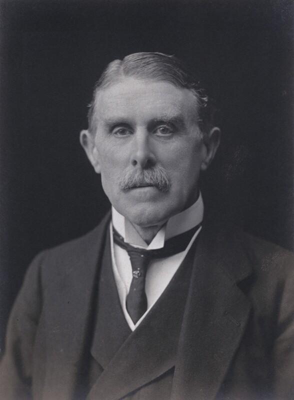 (William) St John Fremantle Brodrick, 1st Earl of Midleton, by Walter Stoneman, 1921 - NPG x67411 - © National Portrait Gallery, London
