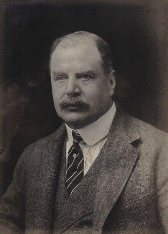 Edward George Villiers Stanley, 17th Earl of Derby, by Walter Stoneman, 1921 - NPG x67462 - © National Portrait Gallery, London