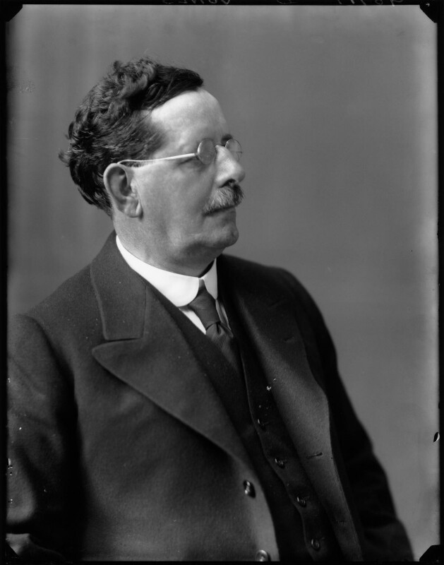 Josiah Towyn Jones, by Walter Stoneman, 1921 - NPG x67583 - © National Portrait Gallery, London
