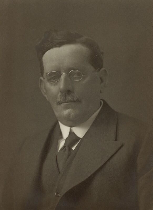 Josiah Towyn Jones, by Walter Stoneman, 1921 - NPG x67584 - © National Portrait Gallery, London
