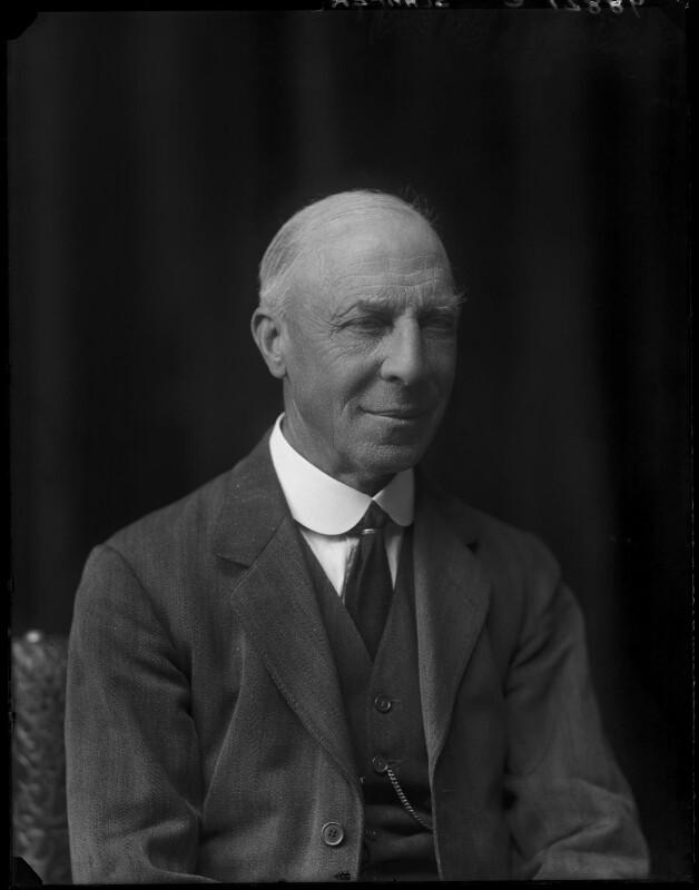 Sir Edward Sharpey-Schafer, by Walter Stoneman, 1921 - NPG x67656 - © National Portrait Gallery, London