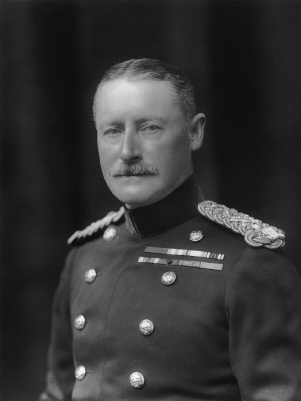 Sir Charles Newsham Trotman, by Walter Stoneman, 1921 - NPG x67683 - © National Portrait Gallery, London