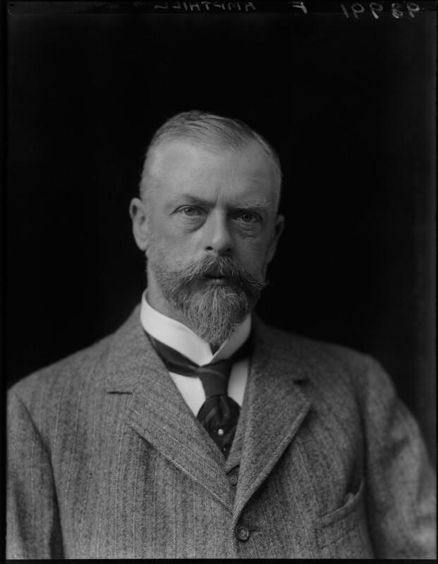 (Arthur) Oliver Villiers Russell, 2nd Baron Ampthill, by Walter Stoneman, 1921 - NPG x67744 - © National Portrait Gallery, London