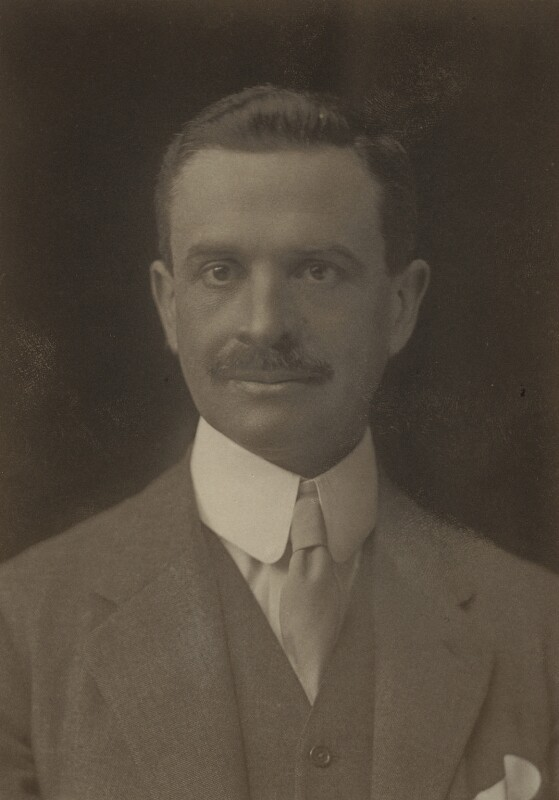Waldorf Astor, 2nd Viscount Astor, by Walter Stoneman, 1921 - NPG x67794 - © National Portrait Gallery, London
