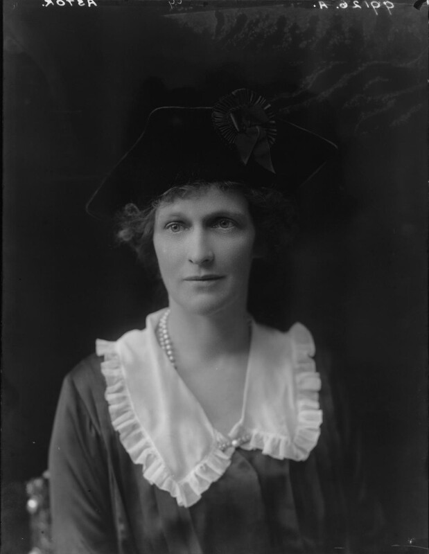 Nancy Astor, Viscountess Astor, by Walter Stoneman, 1921 - NPG x67795 - © National Portrait Gallery, London